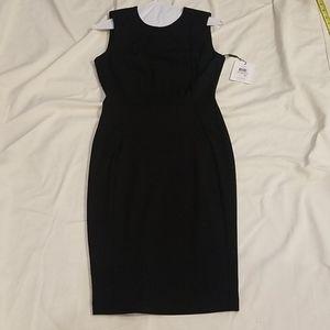 Calvin Klein perfect black sheath dress